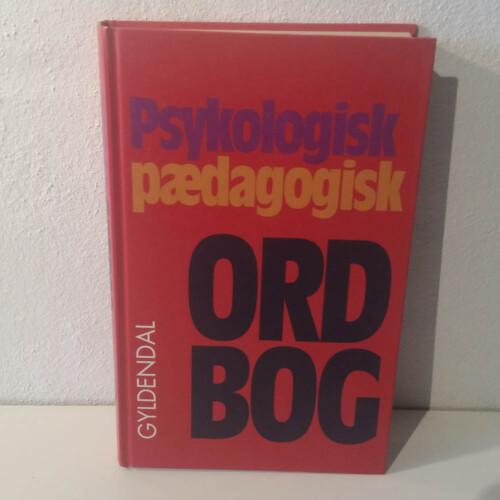 Psykologisk pædagogisk ordbog