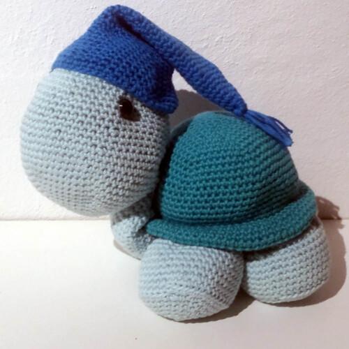 Hæklet skildpadde | 100 Bomuld