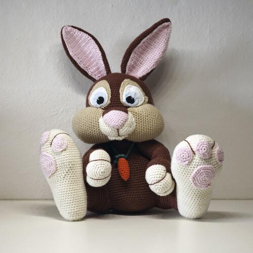 Hæklet Bror kanin