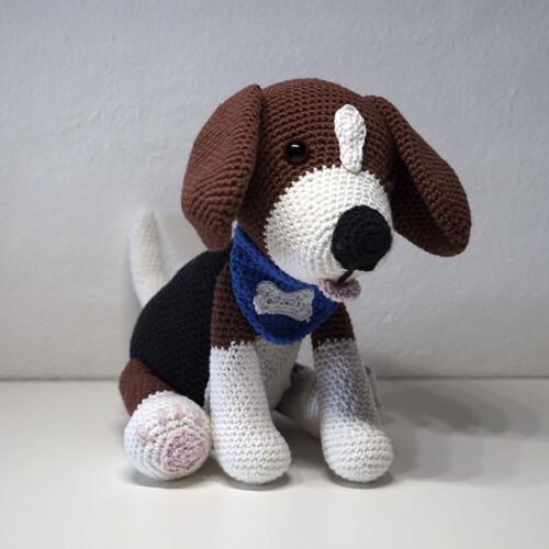 Hæklet Beagle