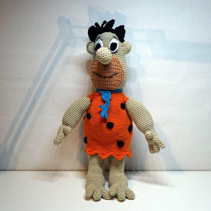 Hæklet Fred Flintstone