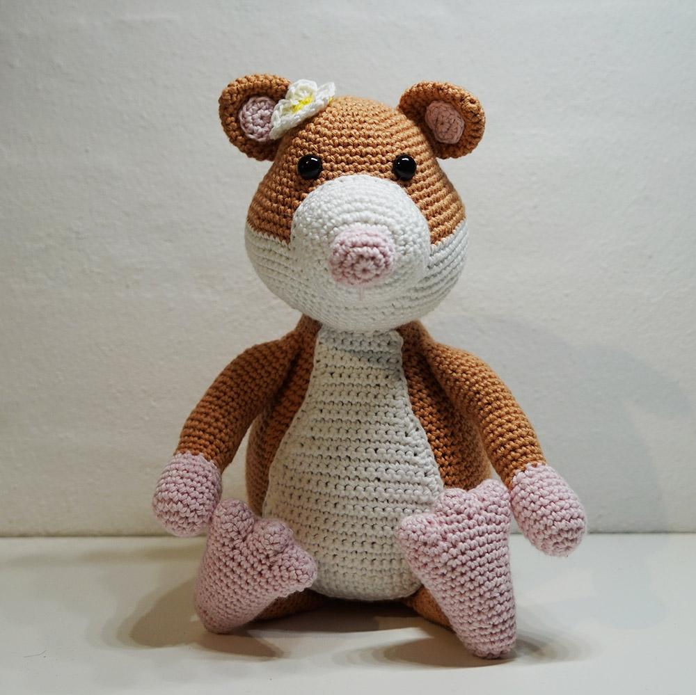Molly - Hæklet Hamster
